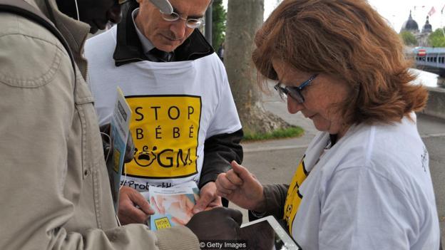 """Előrelátók aláírásgyűjtése az emberi """"GMO"""" ellen"""