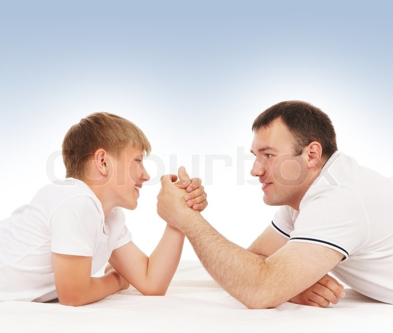 3635142-father-and-son-in-arm-wrestling-competition