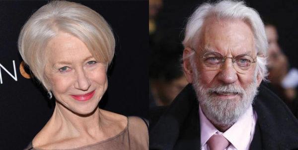 Helen Mirren és Donald Sutherland