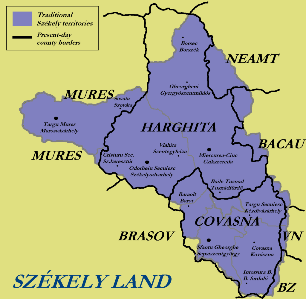 Székely_counties_towns