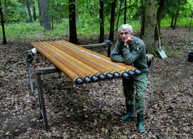 Josef Mužík amatőr régész már 30 éve kutat a környéken