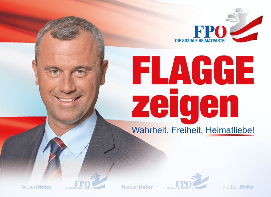 FLAGGE ZEIGEN NEU